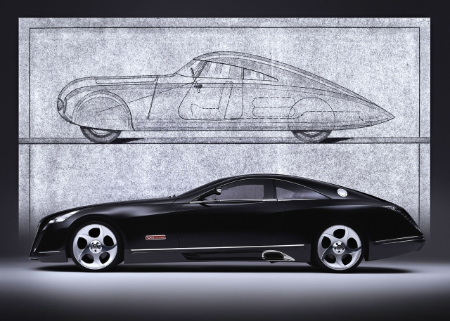 Maybach Exelero - неимоверная крутизна за 4 миллиона долларов